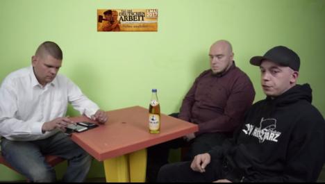 "Alexander Kurth, Ingo Zimmermann und Ulf Ringleb in ""Thügida""-Livevideo vom 29.04.2017"